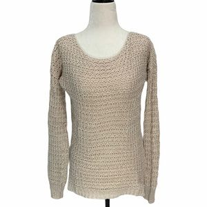 Anthropologie💕 Ruby Moon Blush Sweater Size S